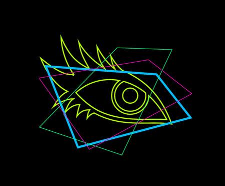 visual eye draw