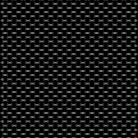 Textile carbon texture Ilustração