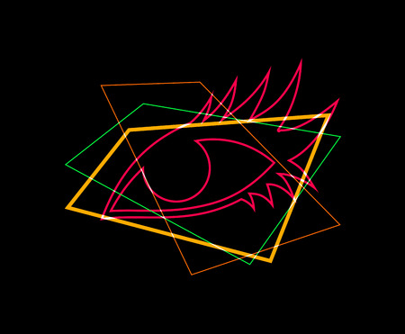 light eye art symbol
