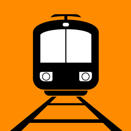 Trolley car icon