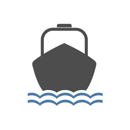 motor boat flat draw