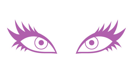 female eye icon