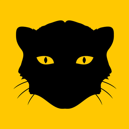 panther face icon