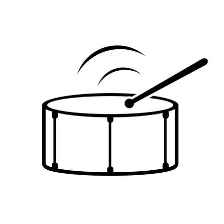 drum icon design Imagens - 124788954