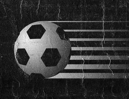 Soccer ball illustration 免版税图像