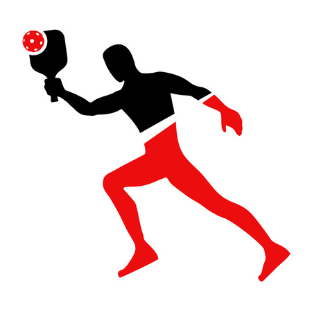 Pickleball sport symbol
