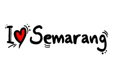 Semarang, Indonesia city Imagens - 124711551