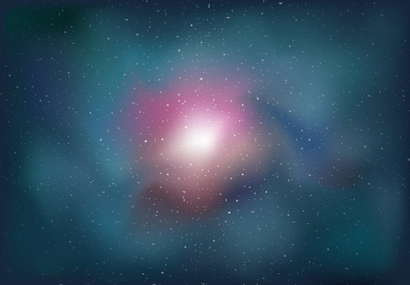 universal cosmos background Illustration