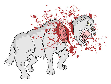 gore murder wolf draw