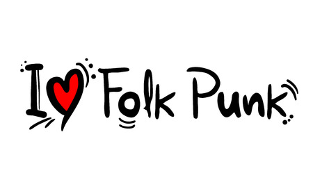 Folk Punk music style love