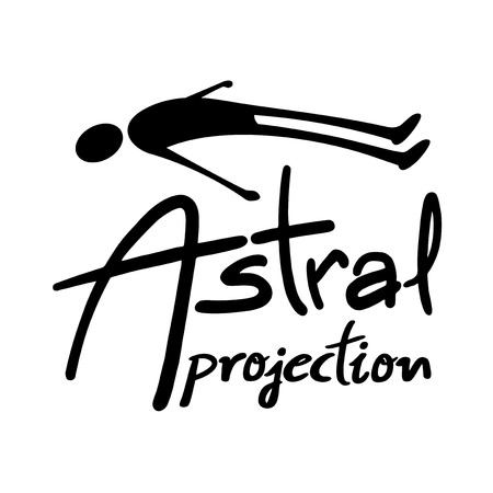 Astral projection illustration