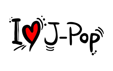 J Pop music style love