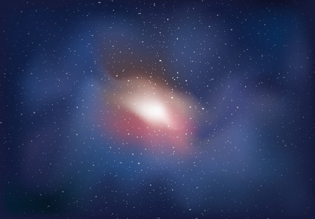 universal cosmos background 向量圖像