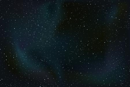 bonito fondo del universo Ilustración de vector