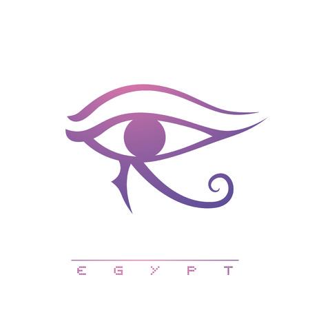 Egypt eye illustration