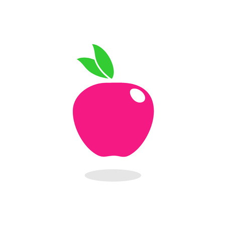 Flat fruit illustration