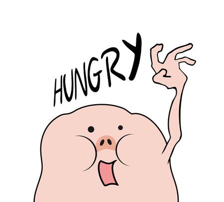 créature affamée drôle