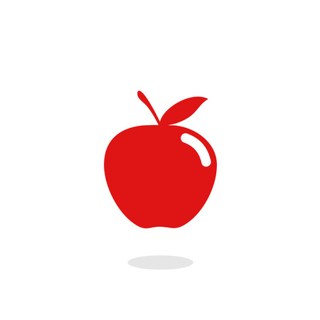 flat fruit icon