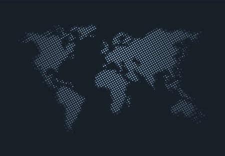 Imaginative world map design