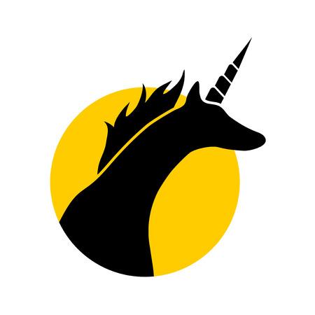 Fantasy unicorn illustration