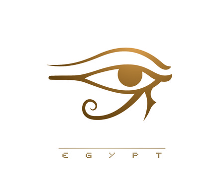 egyptian eye illustration