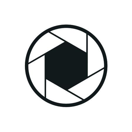 icône de la caméra de l'obturateur