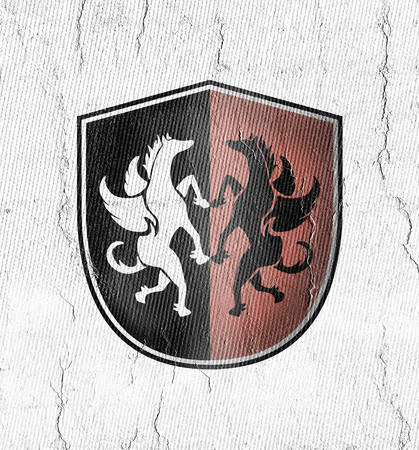elegant medieval symbol
