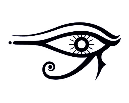 egyptian eye illustration