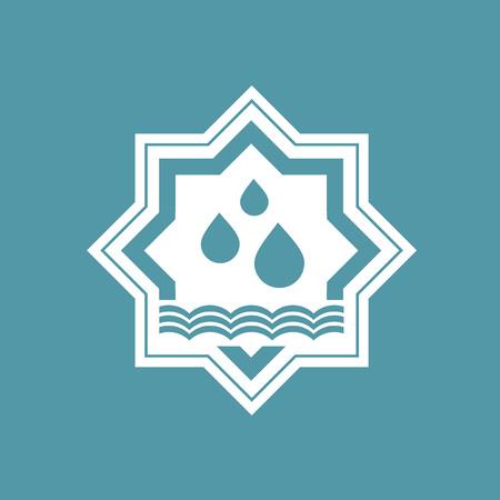 Design of arab bath icon