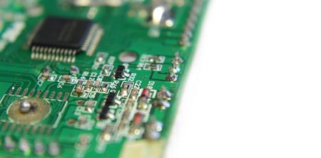electronic panel photo detail