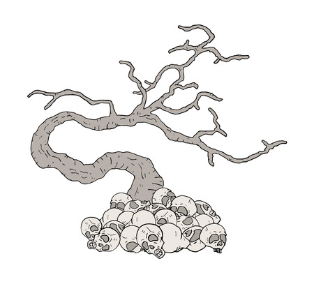 Design of mystery old tree