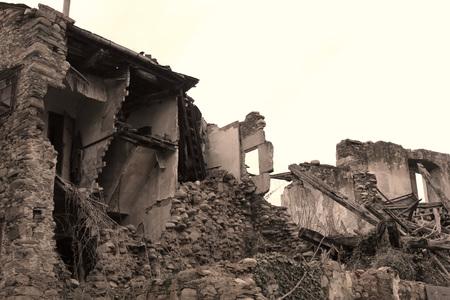 Ruins architecture photo detail