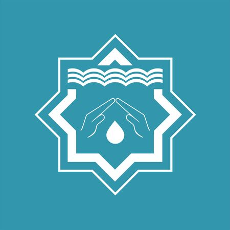 Design of arab bath icon