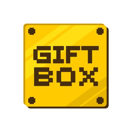 gift box message Ilustrace