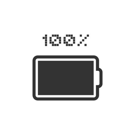 Creative design of battery icon