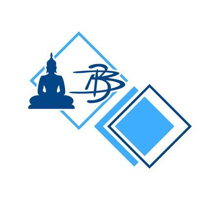 Design of Buddha icon