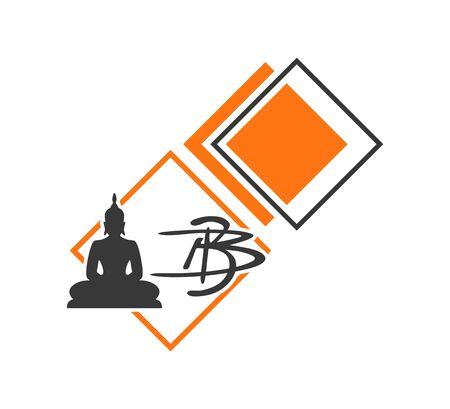 Design of Buddha icon Stock Vector - 128790810