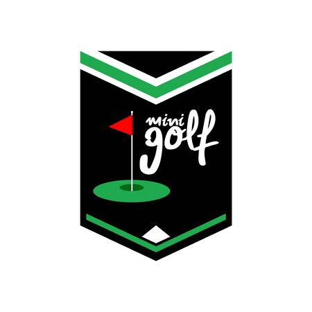 mini golf emblem design