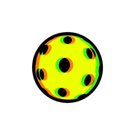 imaginative pickleball sport icon