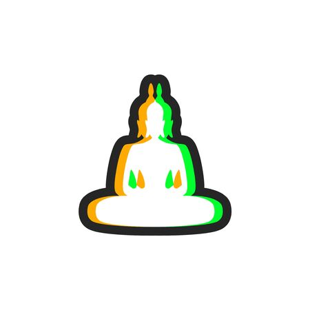 visual effect buddha icon