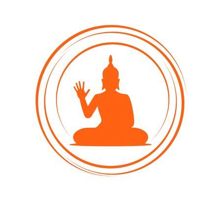 Imaginative buddha symbol