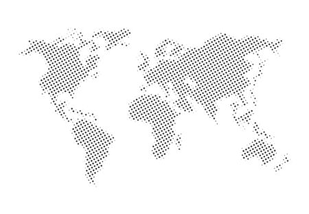 Imaginative world map design
