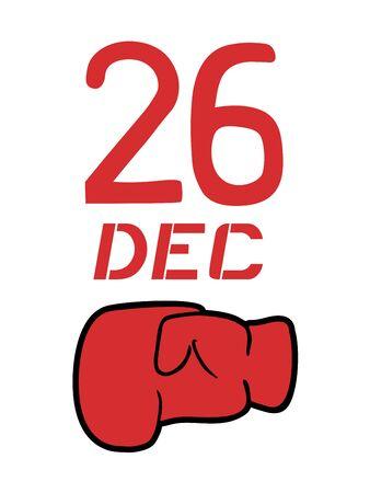 Boxing day symbol  イラスト・ベクター素材