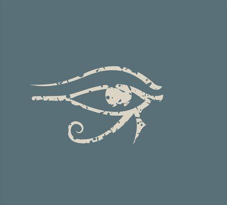 Egypt art icon