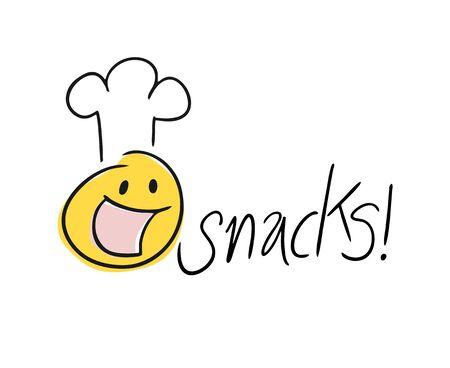 Design of snack symbol