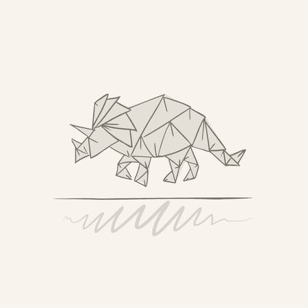 triceratops dinosaur draw