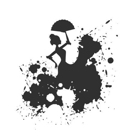 art dancer illustration