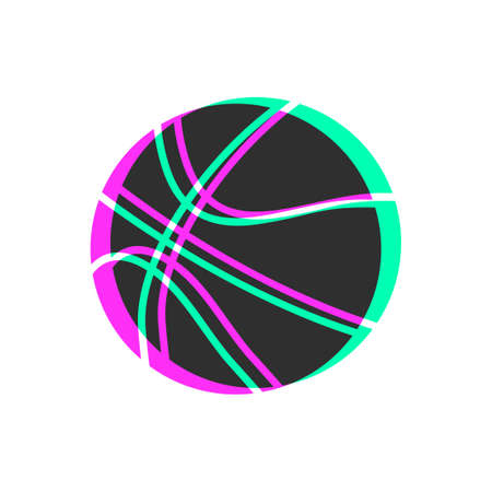 visual effect basket ball icon