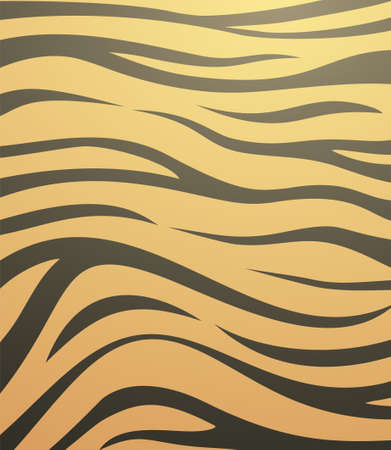 Design of tiger texture