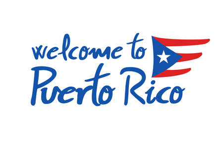 Welcome to Puerto Rico message